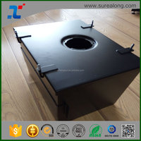 OEM Design China manufacturer galvanized/ powder coated sheet metal stamped box