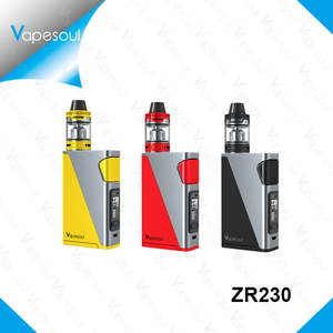 2018 New electronic cigarette itsuwa ZR230 e cig liquid mod vapor liquid 230W battery