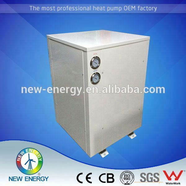 Top design geothermal heat pump r410a under ground water source for -25degree heating and hot water