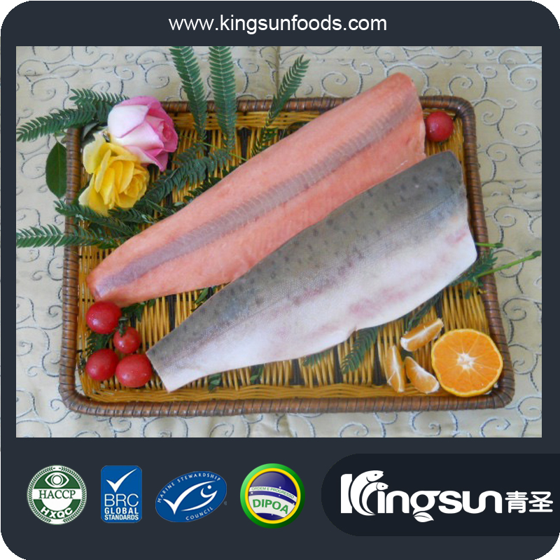 BRC HACCP NEW PRODUCTION GREAT COLOR IVP/ IWP PINK SALMON FILLET