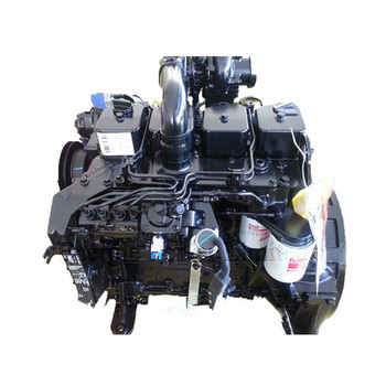 110HP Water cooling 4-Cylinder Cummins Diesel Engine 4BTA3.9-C110