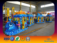 New Product Attractive Electric Train Ocean Track Train For Sale