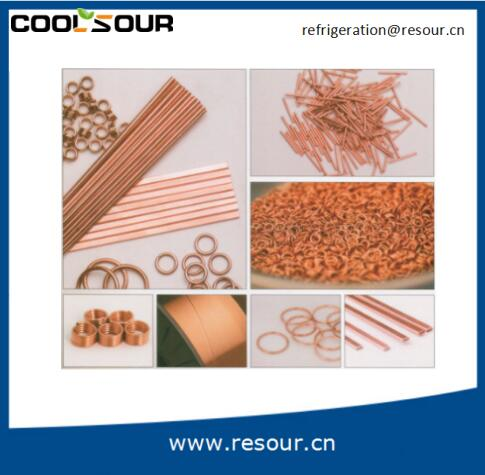COOLSOUR China supplier Phos copper welding rods brazing alloys filler metal
