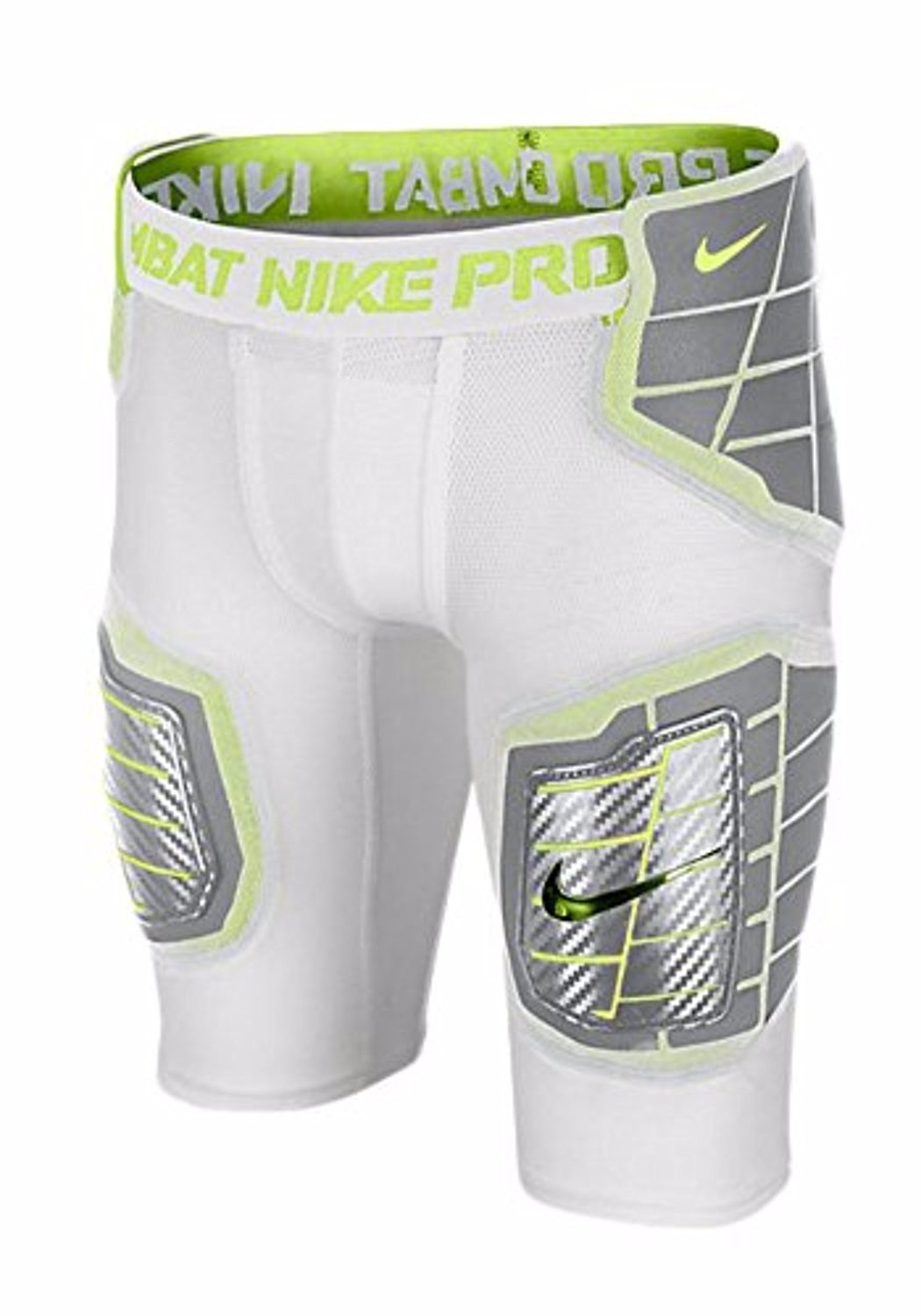 dd1cbbe4c1b8 Nike Youth Boys Pro Hyperstrong Hardplate Fitted Football Shorts White