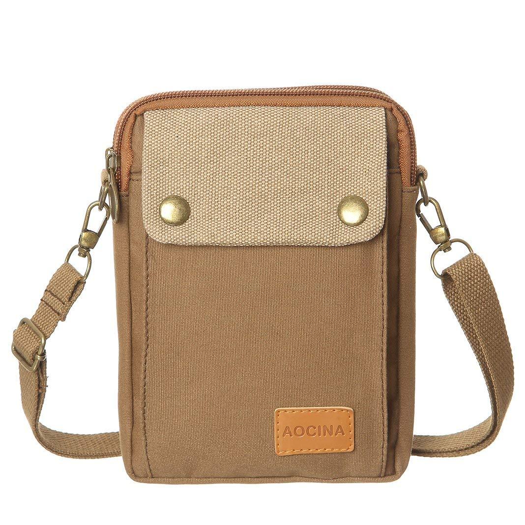 c3aa271050 Cell Phone Purse Wallet Canvas Big Pocket Women Small Crossbody Purse Bags