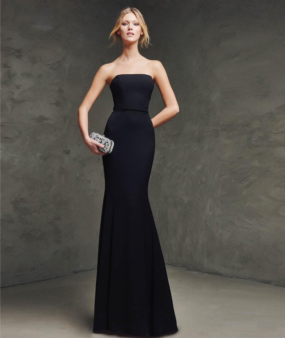 9c267d8d8f3 Black Strapless Evening Dresses - Gomes Weine AG