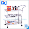 2016 new design adjustable feet easy assemble 3-tier l storage rack metal rack