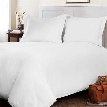 Luxe Elegant Moderne King Size Coton Blanc Hotel Courtepointe De