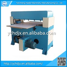 alibaba top 10 supplier 100T hydraulic plane leather cutting machine/skiving machine/leather splitting machine