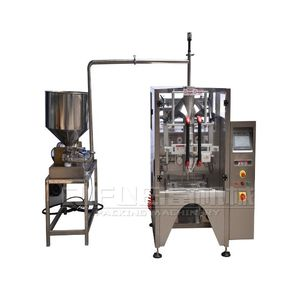Automatic 3/4/back sides sealing sauce honey sachet ketchup liquid packing machine