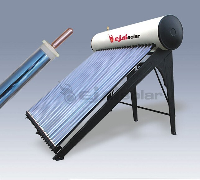 Portable Solar Water Heater : Compact pressurized solar water heater geyser buy