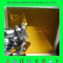 (Highly recommend)24k Gold yellow Coated glass/Reflective glass/mirror glass