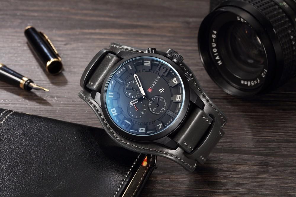 Элитные мужские часы Curren 8225 в Севастополе