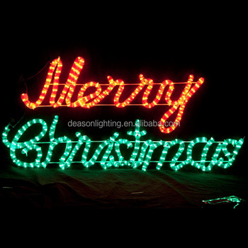 led lighted merry christmas sign - Led Lighted Merry Christmas Sign - Buy Merry Christmas Letter Light