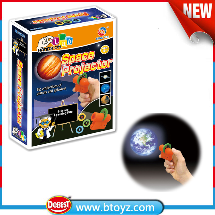 physics experiment toy space projector science learning kits toys