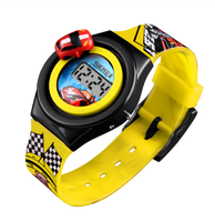 SKMEI Creative Cartoon Car Children Watches For Boys Kids Girls Brand Electronic Digital Kids Watches Luxury Cartoon Child Watch