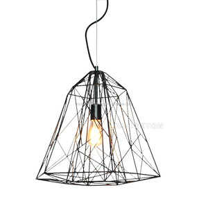 Hot style vintage metal e27 energy saving led pendant light shade