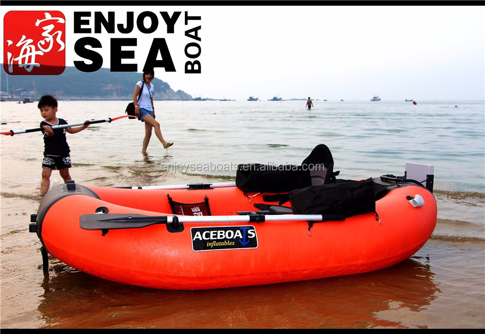 Inflatable portable fishing boat buy portable fishing for One man fishing boats