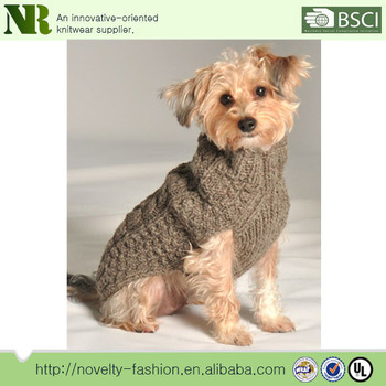 Wholesale Pet Clothing Pattern Knitting Sweater For Dog Pet Dog