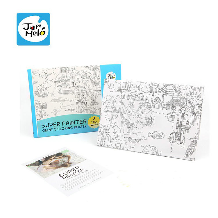 Super Painter Giant Coloring Poster Pads For Kids Super Painter; Giant  Coloring Poster - Buy Learning Pad For Kids,Coloring Poster Pads,Super  Painter ...