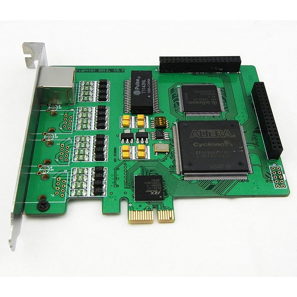 1 Span Selectable E1 or T1 Pcie Card Suitable for Asterisk Based Applications