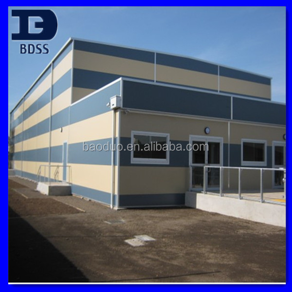 modern decoration prefabricated steel warehouse