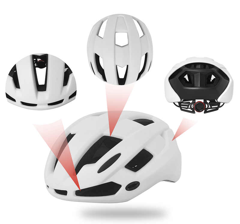 2019 Slim Black Enduro Bicycle Helmet 10