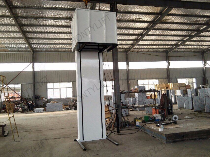 Hydraulic indoor vertical wheelchair lifts elevators small for Indoor elevator