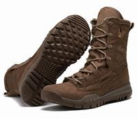 Coyote Leather Lightweight SFB USAF 8inch Army Tactical Military Boots Cheap