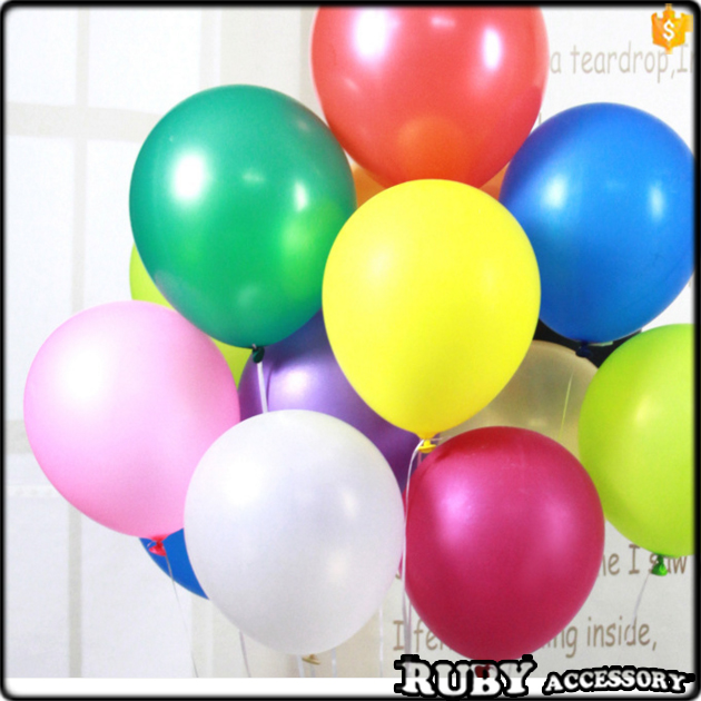 12 inch Birthday party wedding decoration balloons pearlescent latex helium balloon