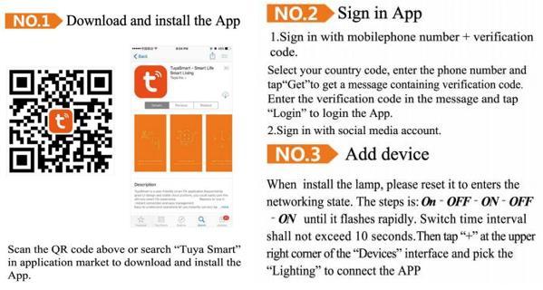 4 Inch Wifi Tuya Smart RGBW LED Downlight