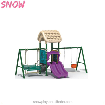 Factory Price Baby Swing Cute Outdoor Set For S Galvanized Steel Pipe