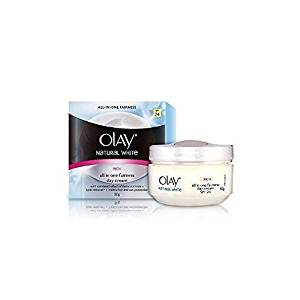 Olay Natural White Rich All In One Fairness Day Cream 50 Gm