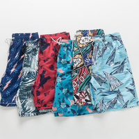 Guangzhou factory OEM custom sublimation printing swimming trunks mens boardshorts swimwear beach shorts board shorts for men