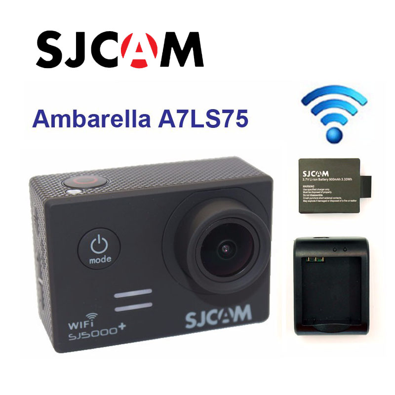 Free Shipping!Original SJCAM SJ5000Plus Ambarella A7 Action Camera 1080P 60FPS
