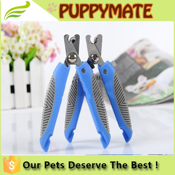 Dog grooming scissors : dog cat nail cutting usual care nail clipper cortaunas