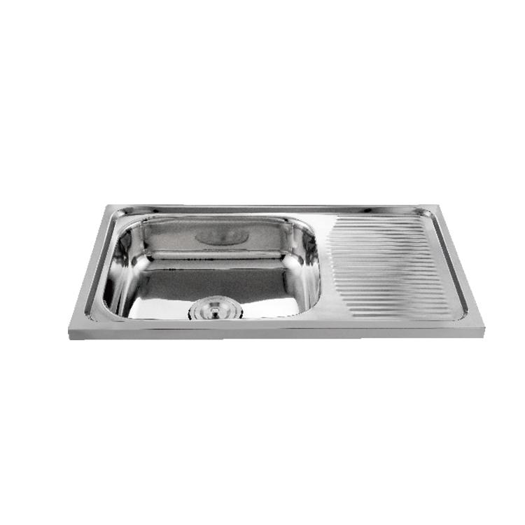 Stainless Steel Freestanding Kitchen Sink, Stainless Steel ...