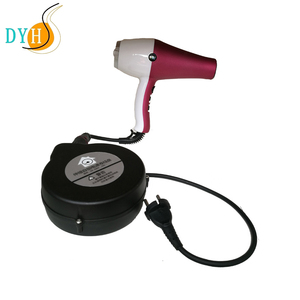 2.5m retracting cable reels Waterproof extension cord reel for hair dryer
