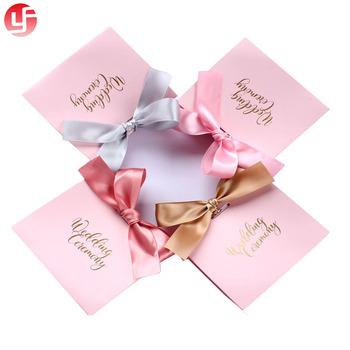 New Style Sweet Indian Wedding Door Gift Paper Bag Pink Wedding Gift ...