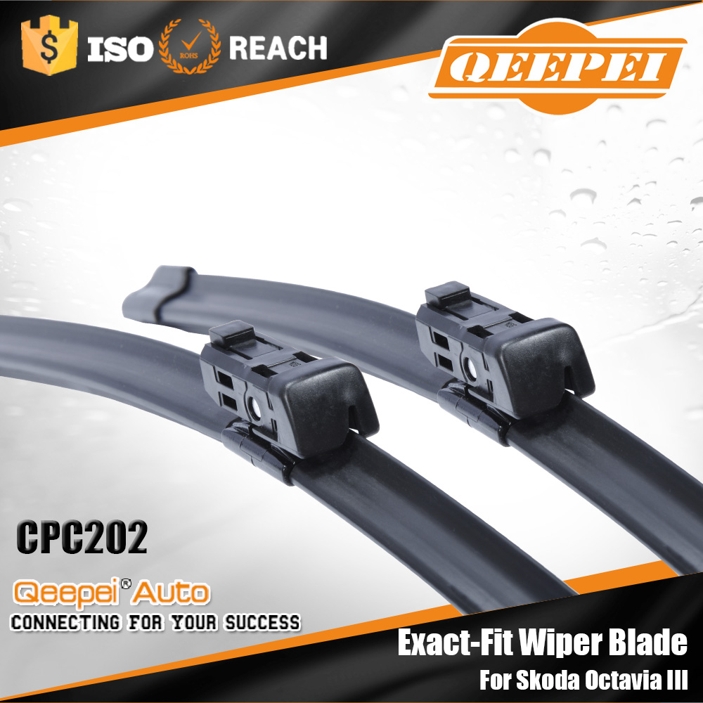 CPC201 China supplier special front wiper blade connector with low moq for VW Polo VI