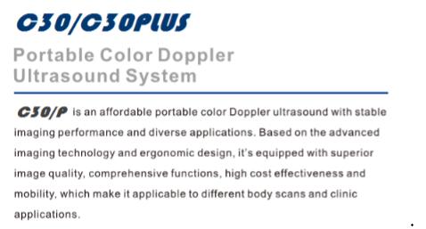 Super Image Quality Portable Vascular Doppler / Economical And Practical  Doppler Ultrasound Price C30 - Buy Vascular Doppler,Portable Vascular