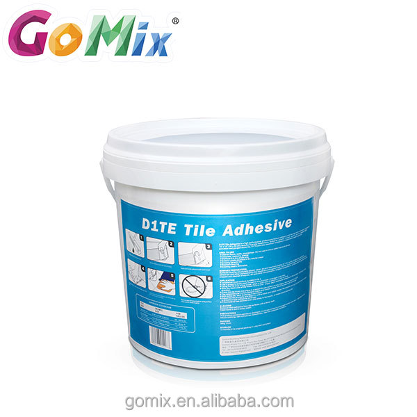 Excellent water resistance thin layer construction mastic tile adhesive