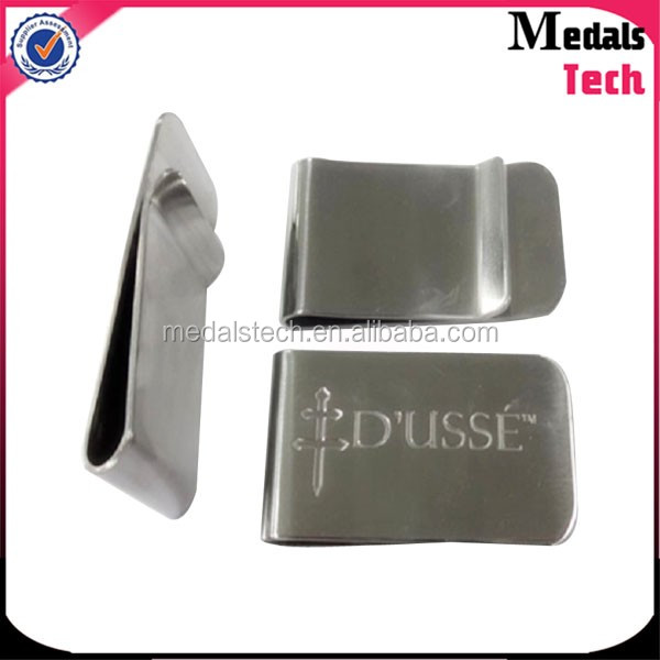 Bulk quality polishing copper blank wallet money clip for men
