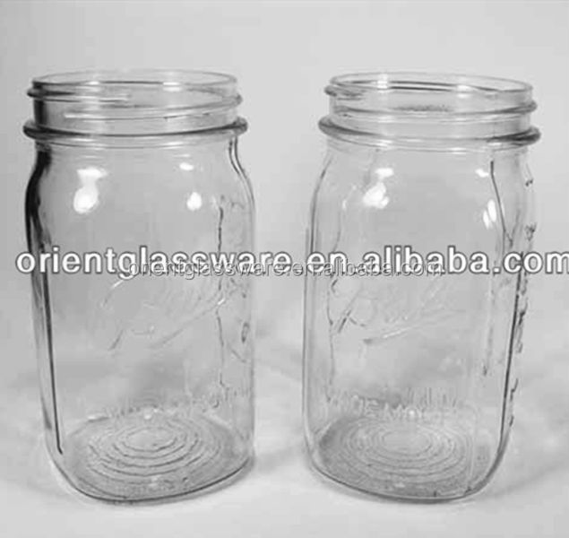 High quality 240ml 8oz glass jar for canning