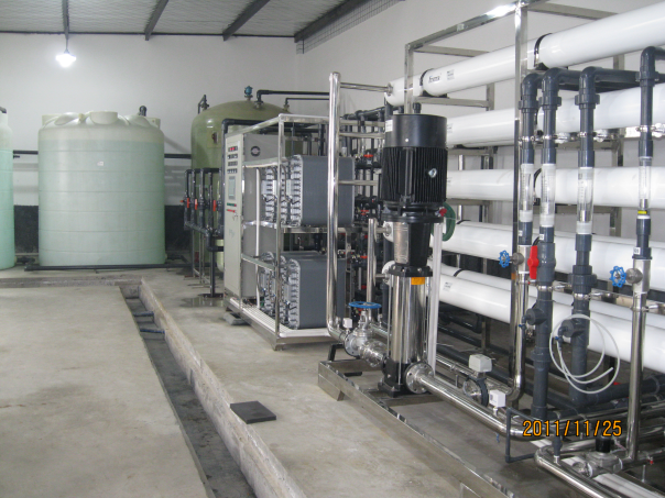 10m3/h electroplating and coating pure water plant for sale