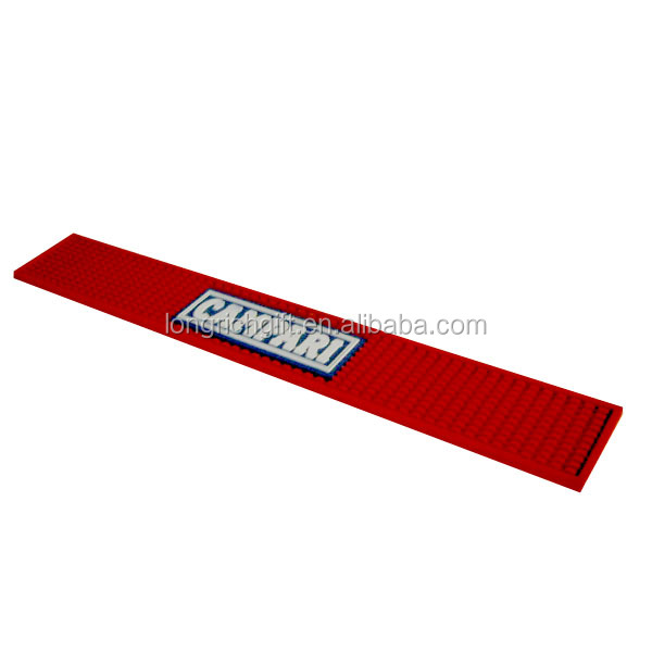CAMPARI Soft PVC Rubber Bar Runner With Customer Logo