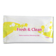 Individually wrapped feminine wipes for sensitive skin