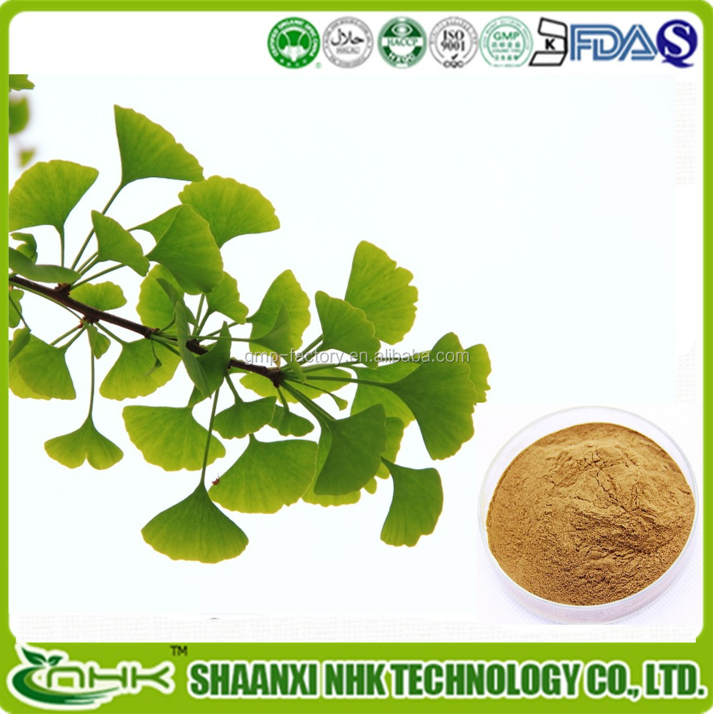 Supply 2016 Standard Raw Material usp Grade High Quality Ginkgo Biloba Extract