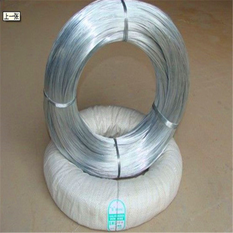 BWG 22 electric galvanized binding wire for bird cage