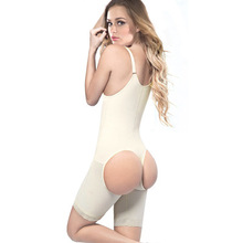 Latex waist trainers with Sexy Butt Lifter Full Body shaper